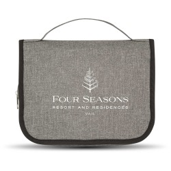 Heathered Hanging Toiletry Bag