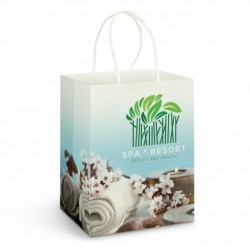 Large Full Colour Printed Paper Carry Bag