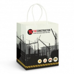 Medium Full Colour Printed Paper Carry Bag