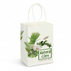 Small Full Colour Printed Paper Carry Bag